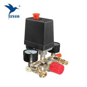 125psi 1 Comutator de presiune compresor de aer port cu regulatoare