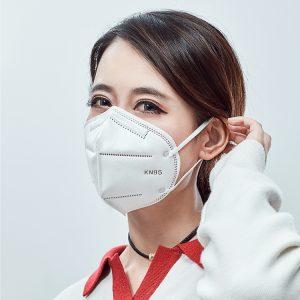 n95 Mască de unică folosință pentru a preveni smogul, a preveni praful și a respira liber